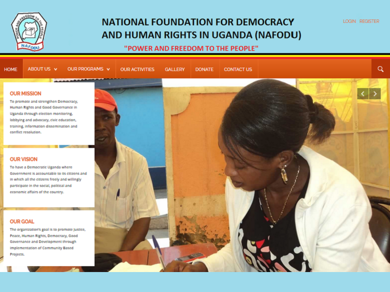 National Foundation for Democracy and Human Rights in Uganda